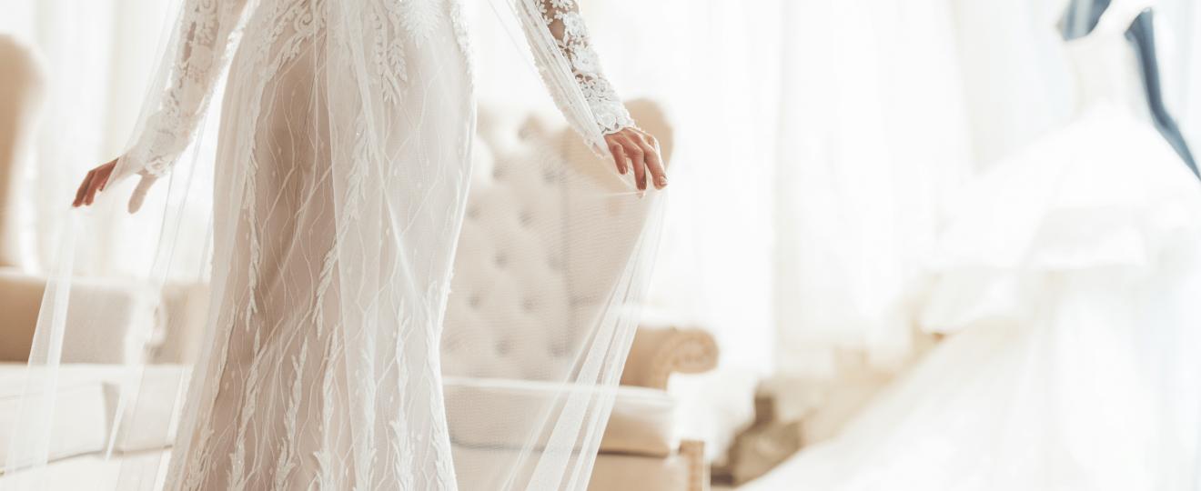 Que faire de sa robe de mariée après le mariage