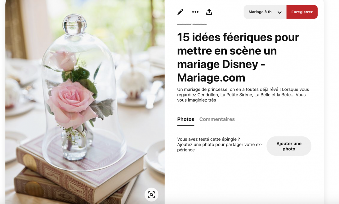 créer son moodboard de mariage - blog mariage - Le Carnet blanc