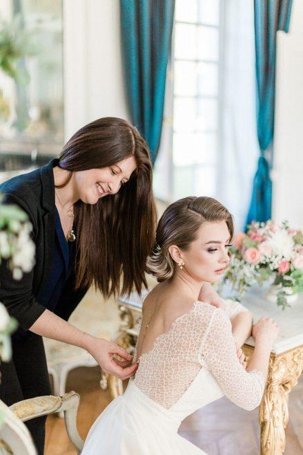 bijou de dos princesse elle même robe de mariée - Le carnet blanc - Blog Mariage