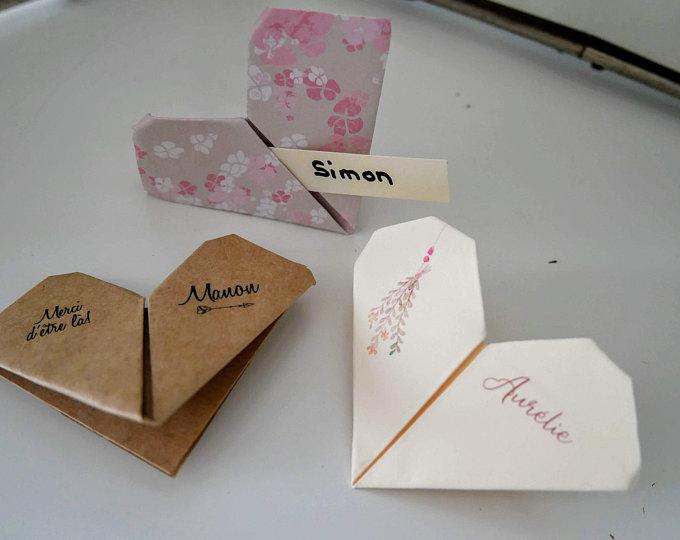 "=alt""origami tendance papeterie mariage"""
