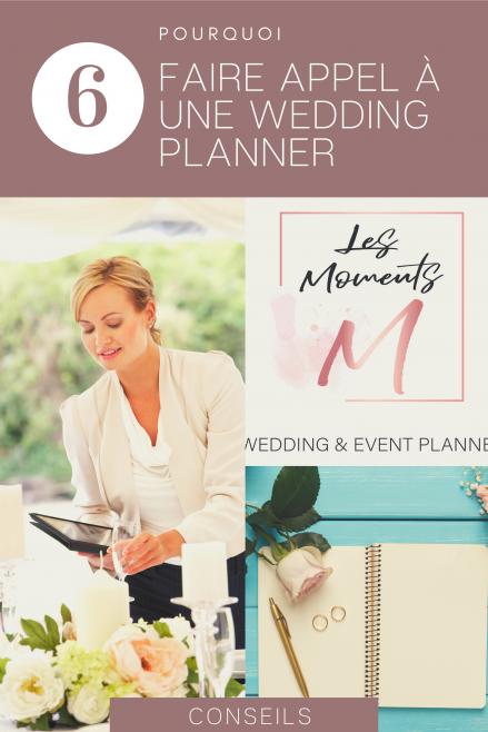 pourquoi faire appel à une wedding planner pour l'organisation de son mariage - Le Carnet Blanc - Blog Mariage
