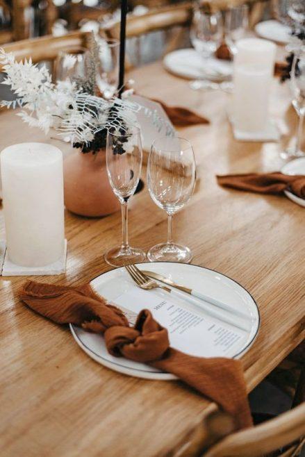 mariage inspiration terracotta et rustique - Le Carnet Blanc - Blog mariage