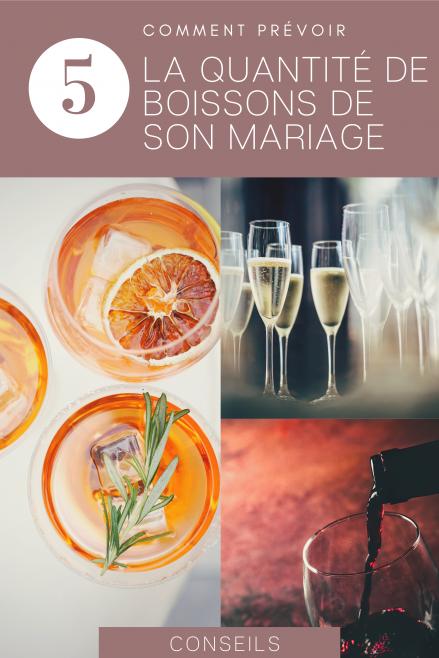 Comment prévoir la quantité de boissons pour son mariage - Blog mariage - Le Carnet Blanc