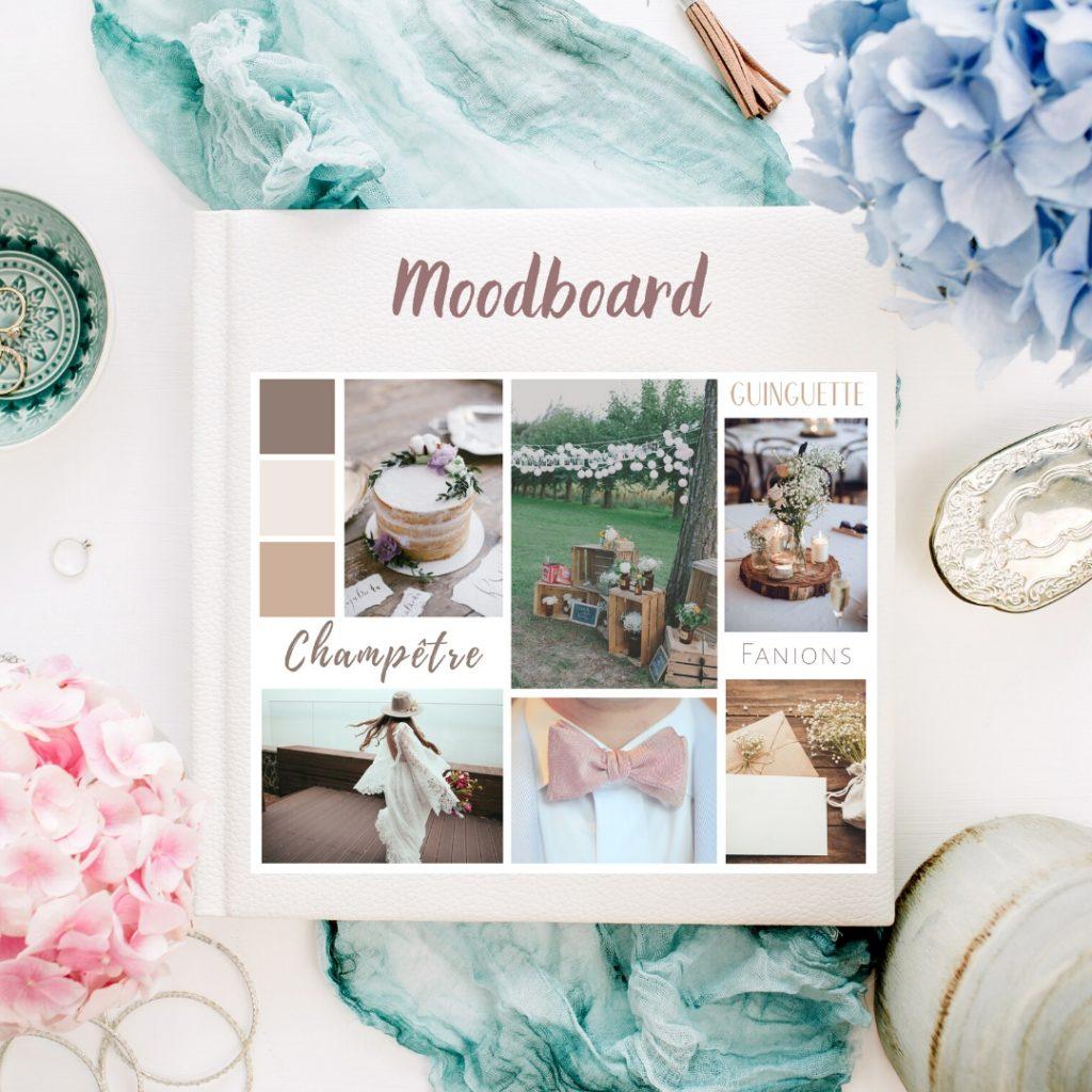 créer son moodboard mariage - idées et inspirations - tendances - Blog Mariage - Le Carnet Blanc
