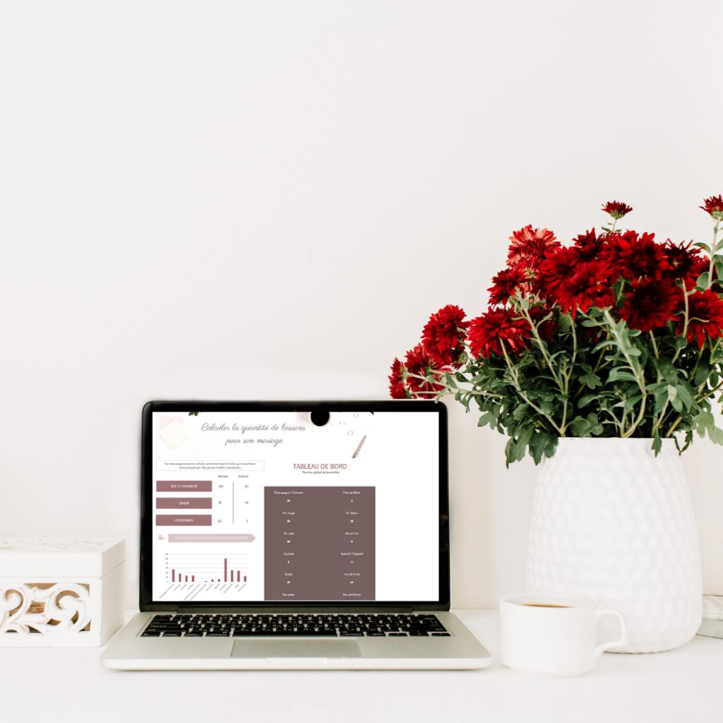 Calculateur automatique de boissons pour son mariage - Boite à outils le carnet blanc - Blog mariage