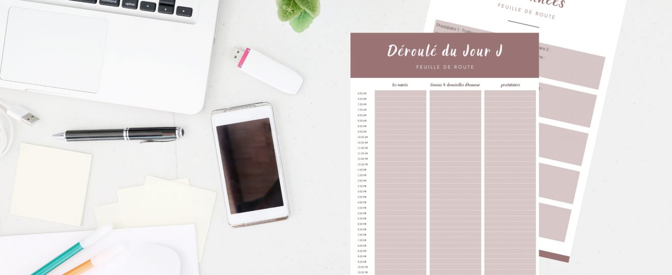 préparer son jour J de mariage - blog mariage - Le Carnet Blanc