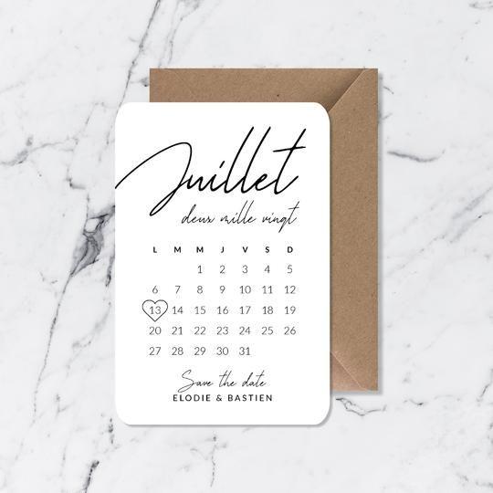 10 idées de save the date originaux pour votre mariage - Blog mariage - Le Carnet Blanc
