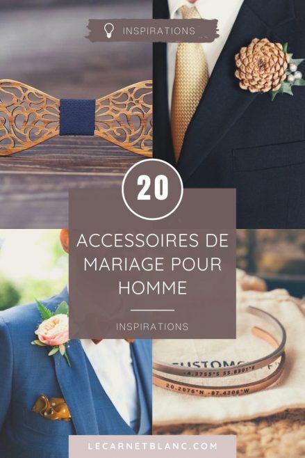 20 accessoires tendances pour homme pour un mariage - blog mariage - Le Carnet Blanc