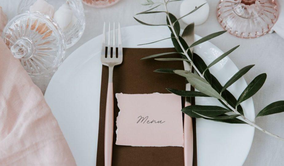 choisir le menu pour son repas de mariage
