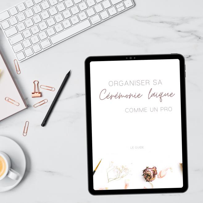 kit organisation cérémonie laïque - blog mariage - le carnet blanc