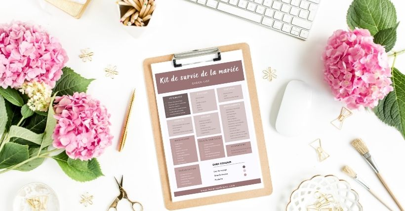 outils d'organisation de mariage - blog mariage - le carnet blanc