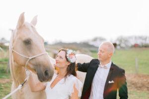 mariage romantique centre équestre - blog mariage - le carnet blanc