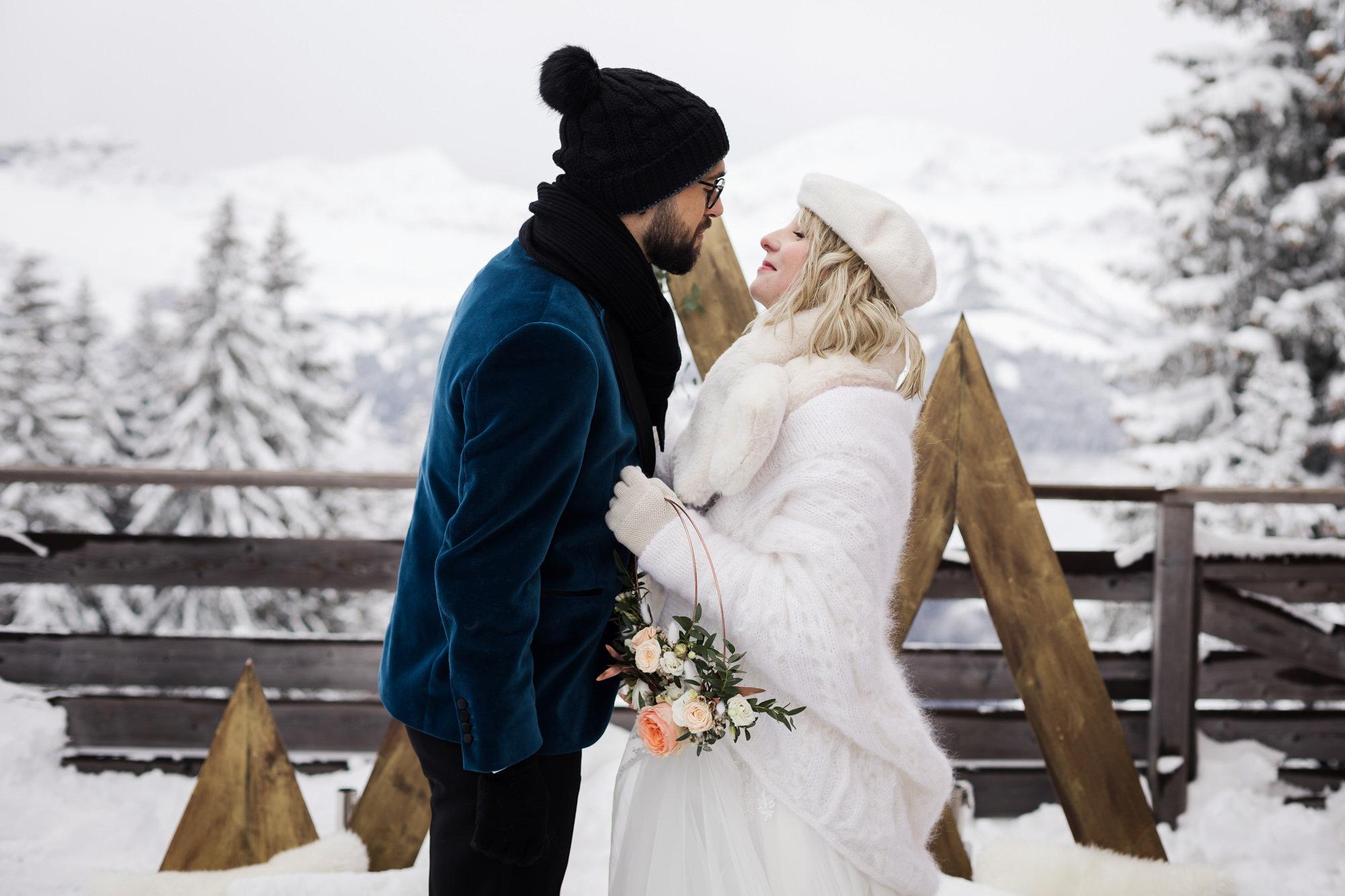 mariage d'hiver elopement - blog mariage - le carnet blanc