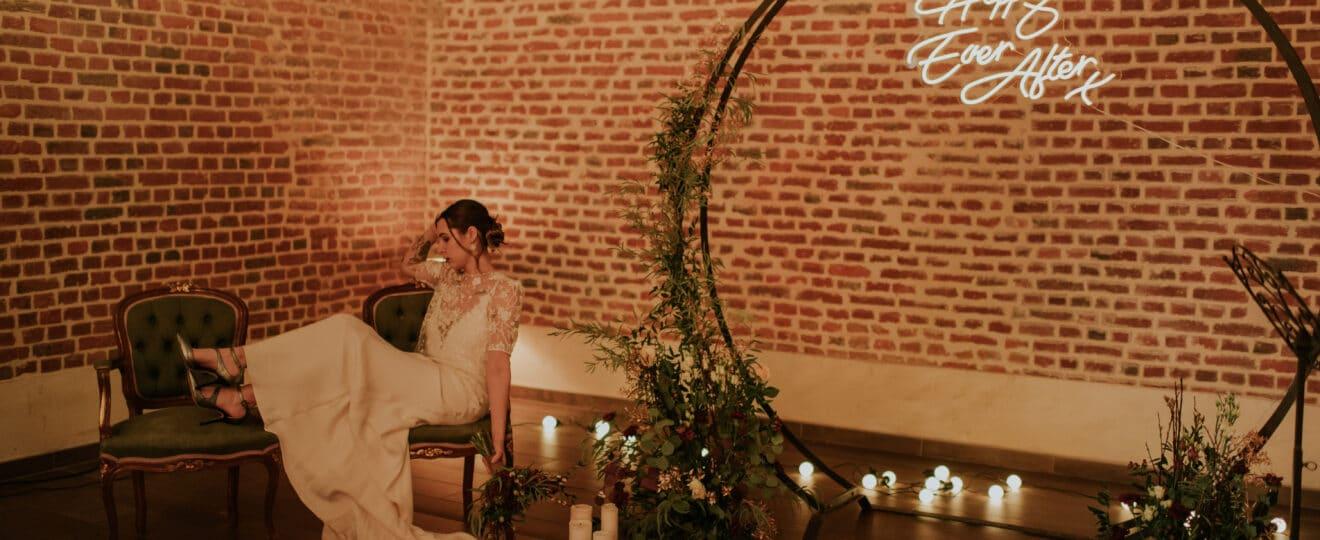 Shooting d'inspiration dark moody romance - blog mariage - le carnet blanc